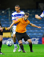 Photo: Leigh Quinnell/Sportsbeat Images.<br /> Queens Park Rangers v Hull City. Coca Cola Championship. 03/11/2007. Hulls Ian Ashbee shields the ball from QPRs Marc Nygaard.