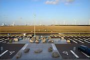 Nederland, Rotterdam, 15-9-2012Tweede, 2e, maasvlakte. Op de achtergrond de elektriciteitscentrale van E-ON. the new land.Foto: Flip Franssen/Hollandse Hoogte