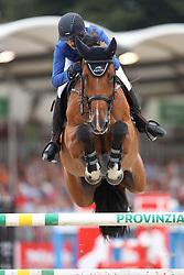 Wagers, Jana (GER) Lasco<br /> Münster - Turnier der Sieger 2016<br /> © www.sportfotos-lafrentz.de