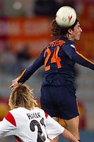 Roma 3/3/2004 Uefa Cup Third Round <br />Roma Gaziatenspor 2-0 (AS Roma qualified) <br />Marco Delvecchio (Roma)<br />Foto Andrea Staccioli Digitalsport