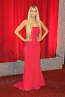 Amanda Clapham, British Soap Awards, Lowry Theatre, Manchester UK, 03 June 2017, Photo by Richard Goldschmidt