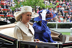 The DUCHESS OF GLOUCESTER at day 2 of the 2011 Royal Ascot Racing festival at Ascot Racecourse, Ascot, Berkshire on 15th June 2011.