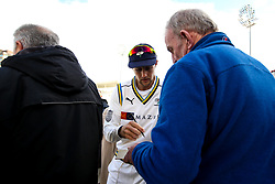 - Mandatory by-line: Robbie Stephenson/JMP - 05/04/2019 - CRICKET - Trent Bridge - Nottingham, England - Nottinghamshire v Yorkshire - Specsavers County Championship Division One