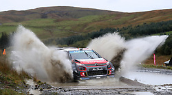 Citroen's Craig Breen on the Sweet Lamb stage during day three of the DayInsure Wales Rally GB. PRESS ASSOCIATION Photo. Picture date: Saturday October 6, 2018. See PA story AUTO Rally. Photo credit should read: David Davies/PA Wire. RESTRICTIONS: Editorial use only. Commercial use with prior consent from teams.