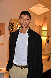 Karim El Fatih at the 2017 PAD Collector's Preview, Berkeley Square, London, England. 02 October 2017.