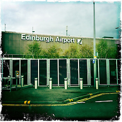 Edinburgh Airport..Hipstamatic images taken on an Apple iPhone..©Michael Schofield.