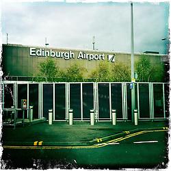 Edinburgh Airport..Hipstamatic images taken on an Apple iPhone..©Michael Schofield.