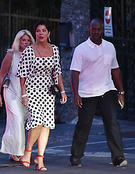 EXCLUSIVE: Kris Jenner and Corey Gamble enjoying holidays on a yacht in Portofino with some friends. 08 Jul 2017 Pictured: Kris Jenner, Corey Gamble. Photo credit: MEGA TheMegaAgency.com +1 888 505 6342