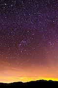 The Milky Way over Anza-Borrego Desert State Park, California USA