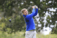 Conor Jameson (Wicklow) during the second round at the Connacht Mid Amateur Open, Roscommon Golf Club, Roscommon, Roscommon, Ireland. 17/08/2019.<br /> Picture Fran Caffrey / Golffile.ie<br /> <br /> All photo usage must carry mandatory copyright credit (© Golffile   Fran Caffrey)