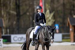 Hooijen Louise, IRL, Valhallas Zorro<br /> CDI 3* Opglabeek 2021<br /> © Hippo Foto - Dirk Caremans<br /> 24/04/2021