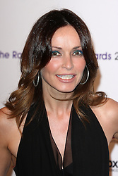 SHARON CORR arrives for the Radio Academy Awards, London, United Kingdom. Monday, 12th May 2014. Picture by i-Images