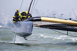 Day four practice Artemis Racing. 29th of July, 2013, Alameda, USA