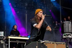 May 25, 2018 - Napa, California, U.S - CHRIS KILMORE and BRANDON BOYD of Incubus during BottleRock Music Festival at Napa Valley Expo in Napa, California (Credit Image: © Daniel DeSlover via ZUMA Wire)