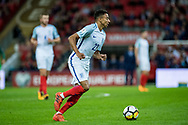 England (22) Jesse Lingard during the FIFA World Cup Qualifier match between England and Slovenia at Wembley Stadium, London, England on 5 October 2017. Photo by Sebastian Frej.