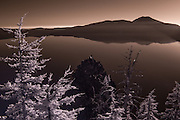 Crater Lake National Park IR  Oct 05, 2014 by Mick Orlosky / Redfishingboat