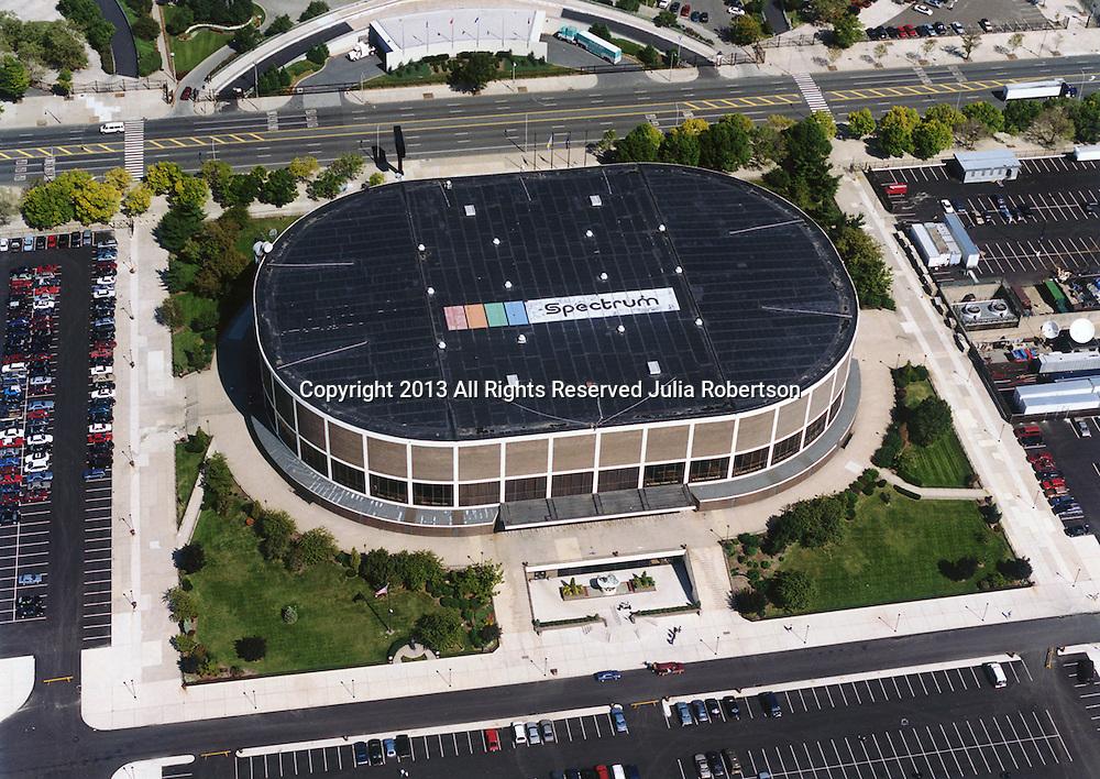 Aerial view of  Philadelphia's Wachovia Spectrum