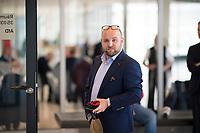 DEU, Deutschland, Germany, Berlin, 05.05.2020: Markus Frohnmaier (AfD) auf dem Weg zur Fraktionssitzung der Partei Alternative für Deutschland (AfD) im Deutschen Bundestag.