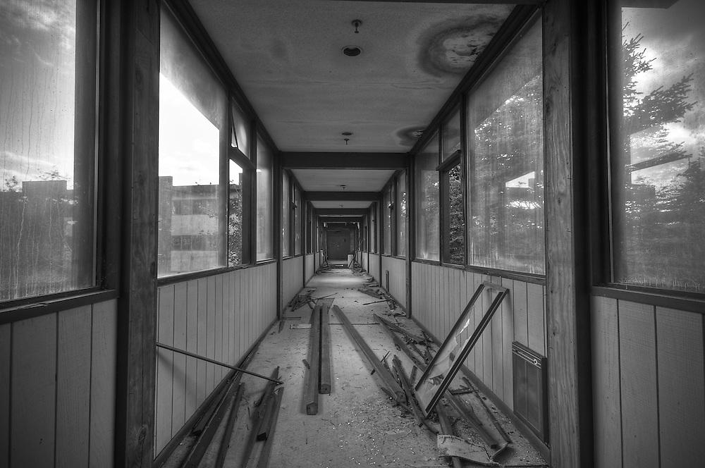 Grossinger's Abandoned Resort Liberty NY. Catskills New York
