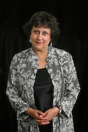 British journalist and commentator Yasmin Alibhai-Brown is pictured at the Edinburgh International Book Festival prior to talking about current issues. The Edinburgh International Book Festival is the world's largest literary event, with over 500 authors from across the world participating each year and ran from 13-29 August. Edinburgh was named the world's first UNESCO City of Literature.