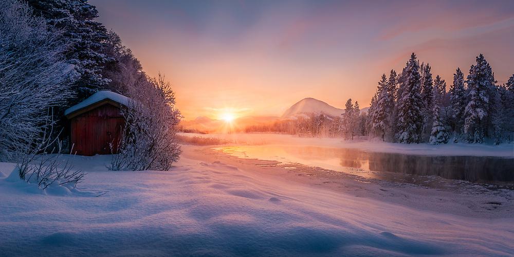 Nordland, Norway. Dec 2014.