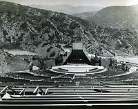1927 Second Hollywood Bowl shell, designed by Lloyd Wright