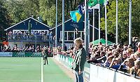 BLOEMENDAAL - Clubhuis van Bloemendaal tijdens de hoofdklassewedstrijd tussen de mannen van Bloemendaal en Den Bosch (7-0). COPYRIGHT KOEN SUYK