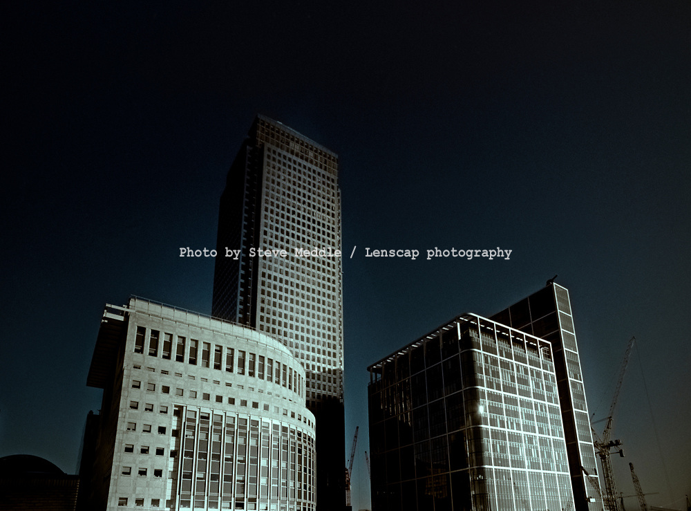 Canary Wharf Tower, One Canada Square, Docklands, London - Oct 1999<br /> Nikon F90