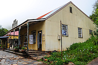 Souvenir shop. Pilgrim's Rest, an old Gold mining town in South Africa declared a national monument.