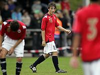 Fotball<br /> Landskamp G15<br /> Sverige v Norge 0:3<br /> Arvika<br /> 23.09.2010<br /> Foto: Morten Olsen, Digitalsport<br /> <br /> Alexander Jones  -  Start