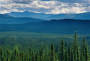 Foothills of the northern Rockies. Near Sikanni Chief<br /> Near Sikanni Chief<br /> British Columbia<br /> Canada