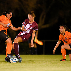 BRISBANE, AUSTRALIA - FEBRUARY 6:  during the NPLW Senior Women's Round 1 match between Eastern Suburbs and Logan Lightning on February 6, 2018 in Brisbane, Australia. (Photo by Eastern Suburbs / Patrick Kearney)