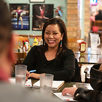 Kelly Zunie, elected vice-chairman of the McKinley County Republican Party at the group's Biennial County Convention, Thursday, Jan. 10 at Sammy C's in Gallup.