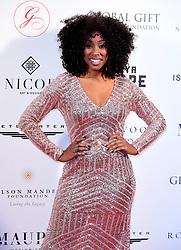 Scarlette Douglas attending the Nelson Mandela Global Gift Gala, at the Rosewood Hotel, London.