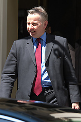 Downing Street, London, June 16th 2015. Justice Secretary Michael Gove leaves 10 Downing Street.
