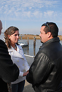 12/7/09 - 11:25:33 AM - FORTESCUE, NJ: Diana & Ken - December 7, 2009 - Fortescue, New Jersey. (Photo by William Thomas Cain/cainimages.com)