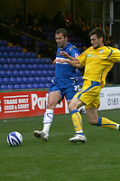 Leon McSweeney. Stockport County FC 1-2 Colchester United FC. Coca-Cola League 1. 18.8.08