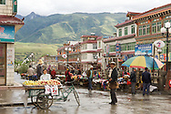 Being a trading town, Ganze's center is full of well stocked markets and stores.  Ganzi, Tibet