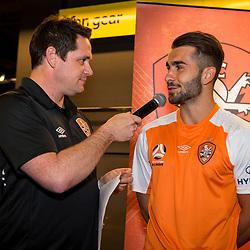 BRISBANE, AUSTRALIA - AUGUST 30: During a Hyundai A-League Brisbane Roar 2017/18 Kit Reveal event on August 30, 2017 in Brisbane, Australia. (Photo by Brisbane Roar / Patrick Kearney)