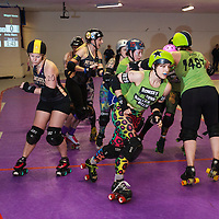 2017-02-18 Romsey Town Rollerbillies vs Newcastle's Whippin Hinnies