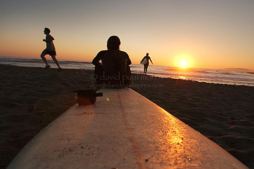 SAN FRANCISCO, CA: Ocean Beach in San Francisco, California. Photograph by David Paul Morris