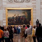 Landing of Columbus Painting in US Capitol Rotunda