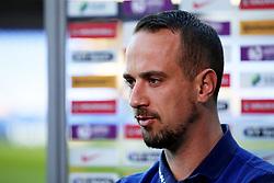 England head coach Mark Sampson - Mandatory by-line: Matt McNulty/JMP - 19/09/2017 - FOOTBALL - Prenton Park - Birkenhead, United Kingdom - England v Russia - FIFA Women's World Cup Qualifier