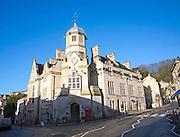 Former town hall now a Catholic church Bradford on Avon, Wiltshire, England