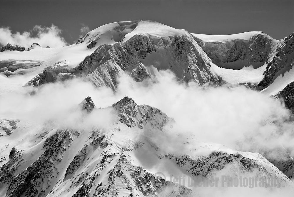 The complex terrain of Mont Velan, Switzerland.