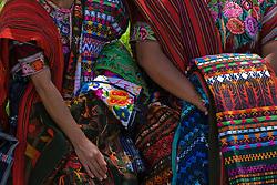 People in market, Sololá, Guatemala
