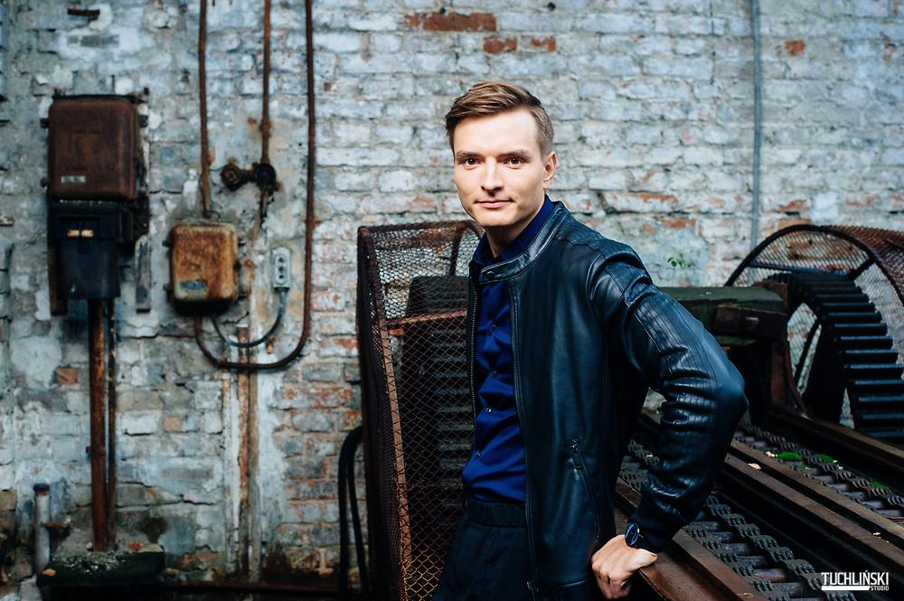 Warszawa; 07.09.2017r. <br /> 30 Under 30 N/z Miron Mironiuk<br /> Fot. Adam Tuchlinski dla Forbes