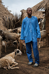 3 June 2019, Djohong, Cameroon: Through a cash-based intervention by the Lutheran World Federation in 2016, CAR refugee Mousa Usmanou has been able to establish a farmstead in the Borgop refugee camp, where today he hosts as many as 97 sheep, allowing him to make a regular and steady income. The Borgop refugee camp is located in the municipality of Djohong, in the Mbere subdivision of the Adamaoua regional state in Cameroon. Supported by the Lutheran World Federation since 2015, the camp currently holds 12,300 refugees from the Central African Republic.