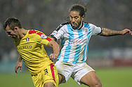 Sean Scannell (Huddersfield Town) during the Sky Bet Championship match between Huddersfield Town and Rotherham United at the John Smiths Stadium, Huddersfield, England on 15 December 2015. Photo by Mark P Doherty.