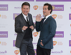 Dick and Dom attending the annual WellChild Awards at The Dorchester Hotel, London.